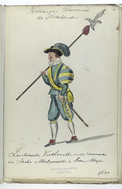 Vereenigde Provincien der Nederlanden. [...]. 1600