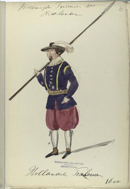 Vereenigde Provincien der Nederlanden. Hollandische Piekeur [?]. 1600