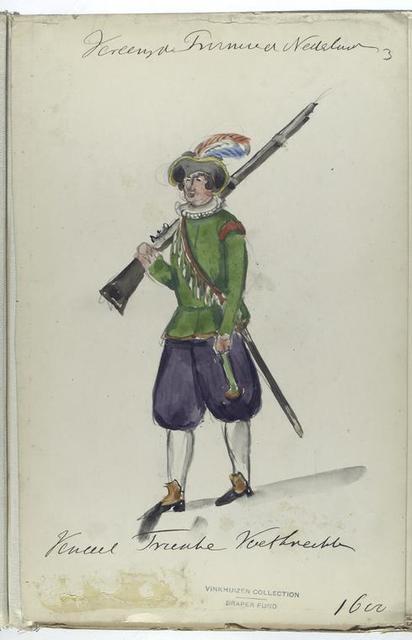 Vereenigde Provincien der Nederlanden. Vendel ... 1600