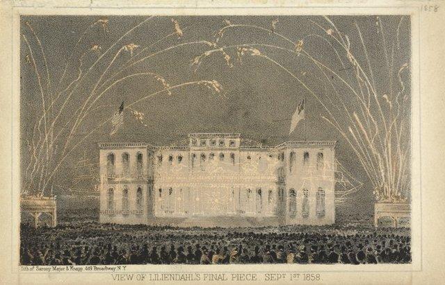 View of Liliendahl's final piece, Sept. 1st. 1858