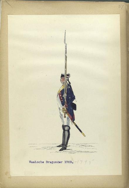 Waalsche Dragonder. 1769-1795