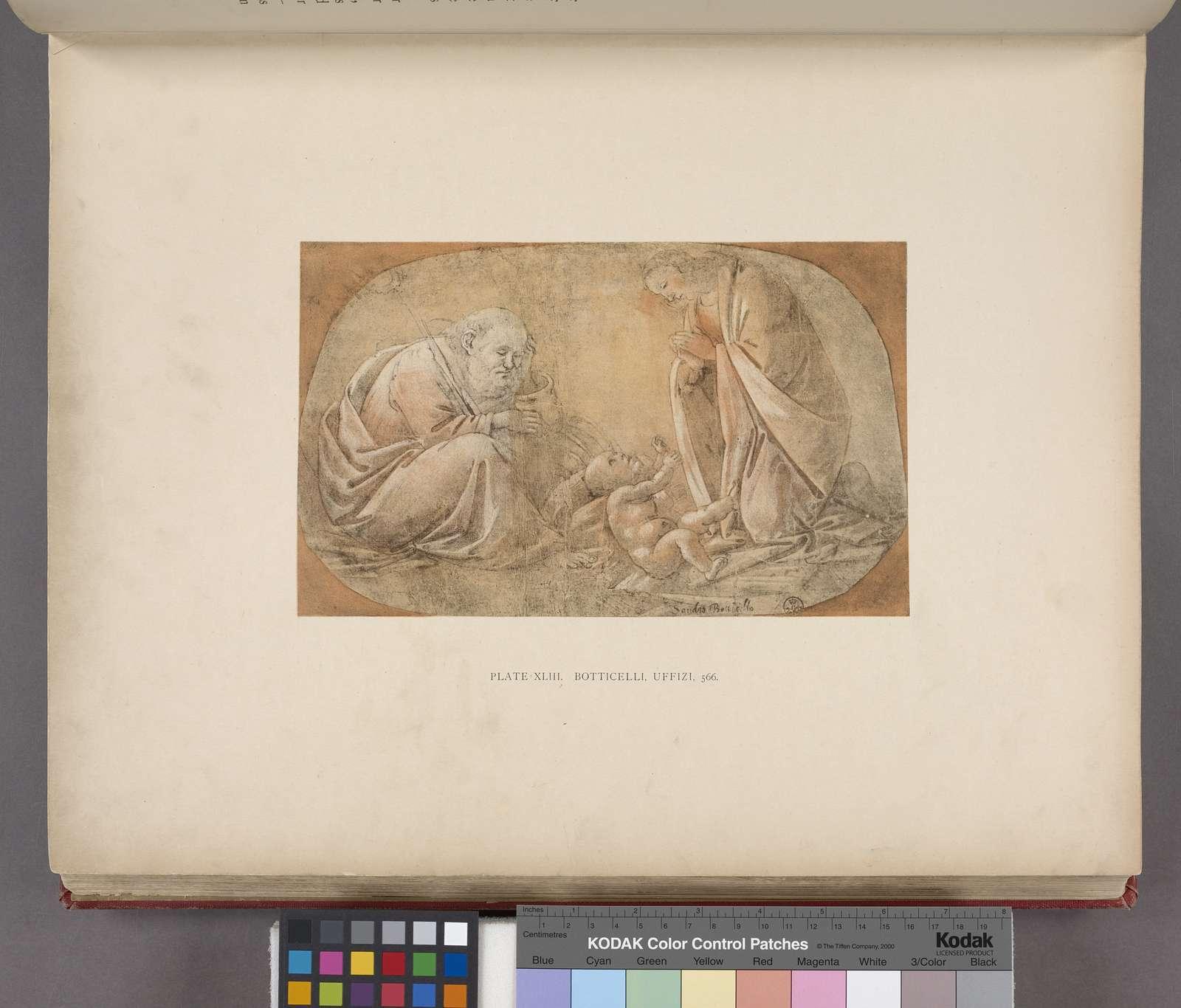 Botticelli, Uffizi, 566. [Nativity.]