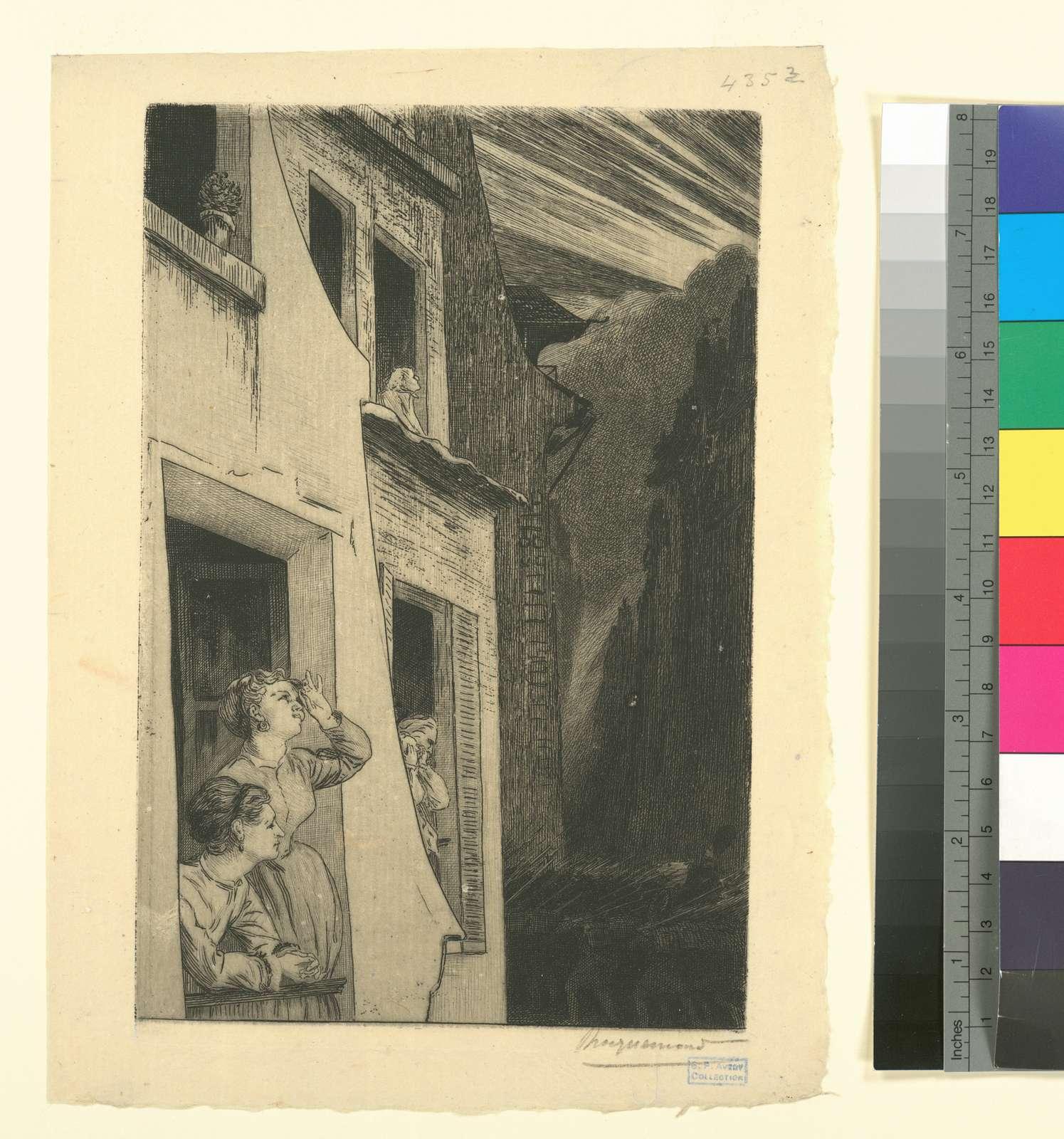 Vignette pour L'éclipse, sonnet d'Auguste Vacquerie.
