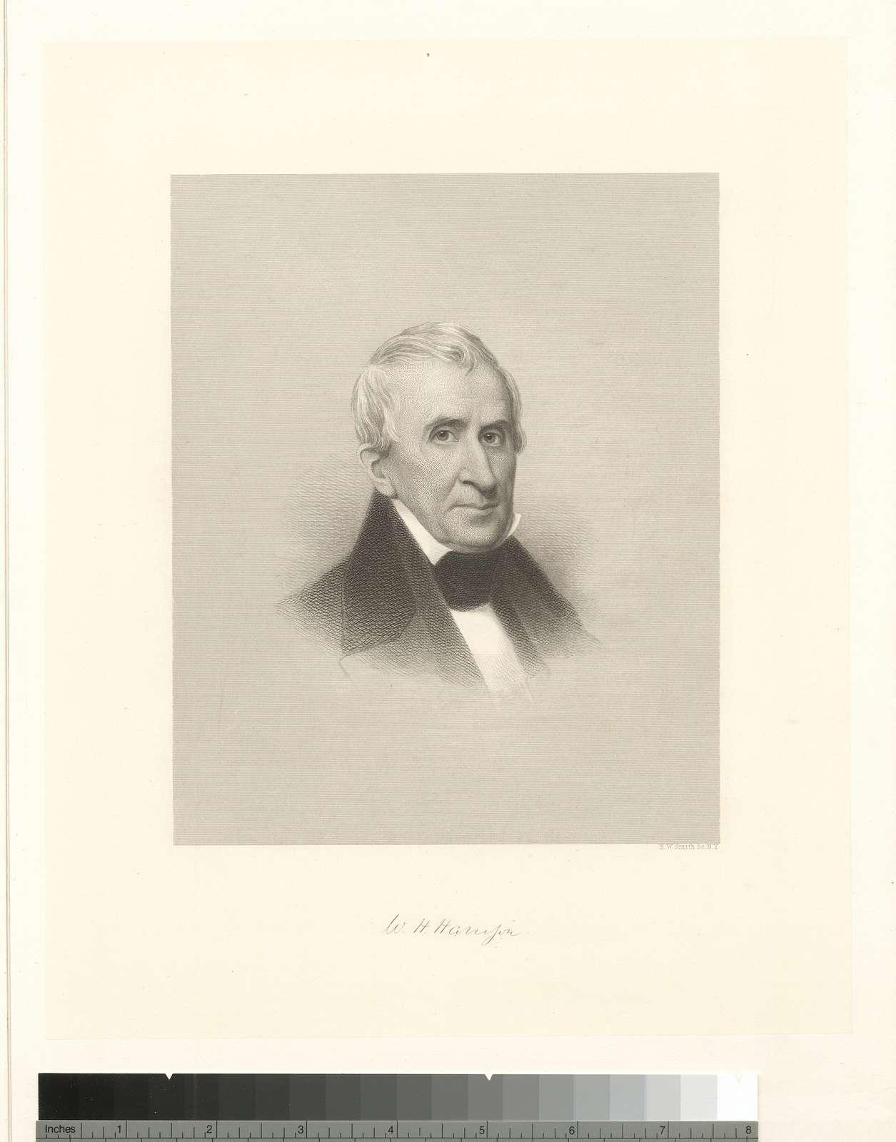 [William Henry Harrison.]