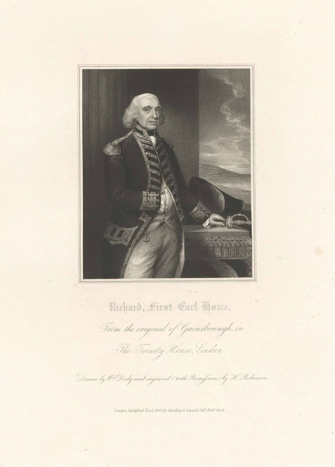 Richard, First Lord Howe