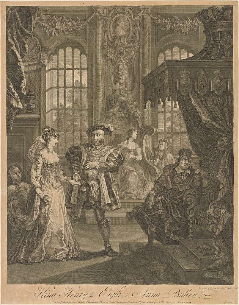 Henry the Eighth and Anne Boleyn