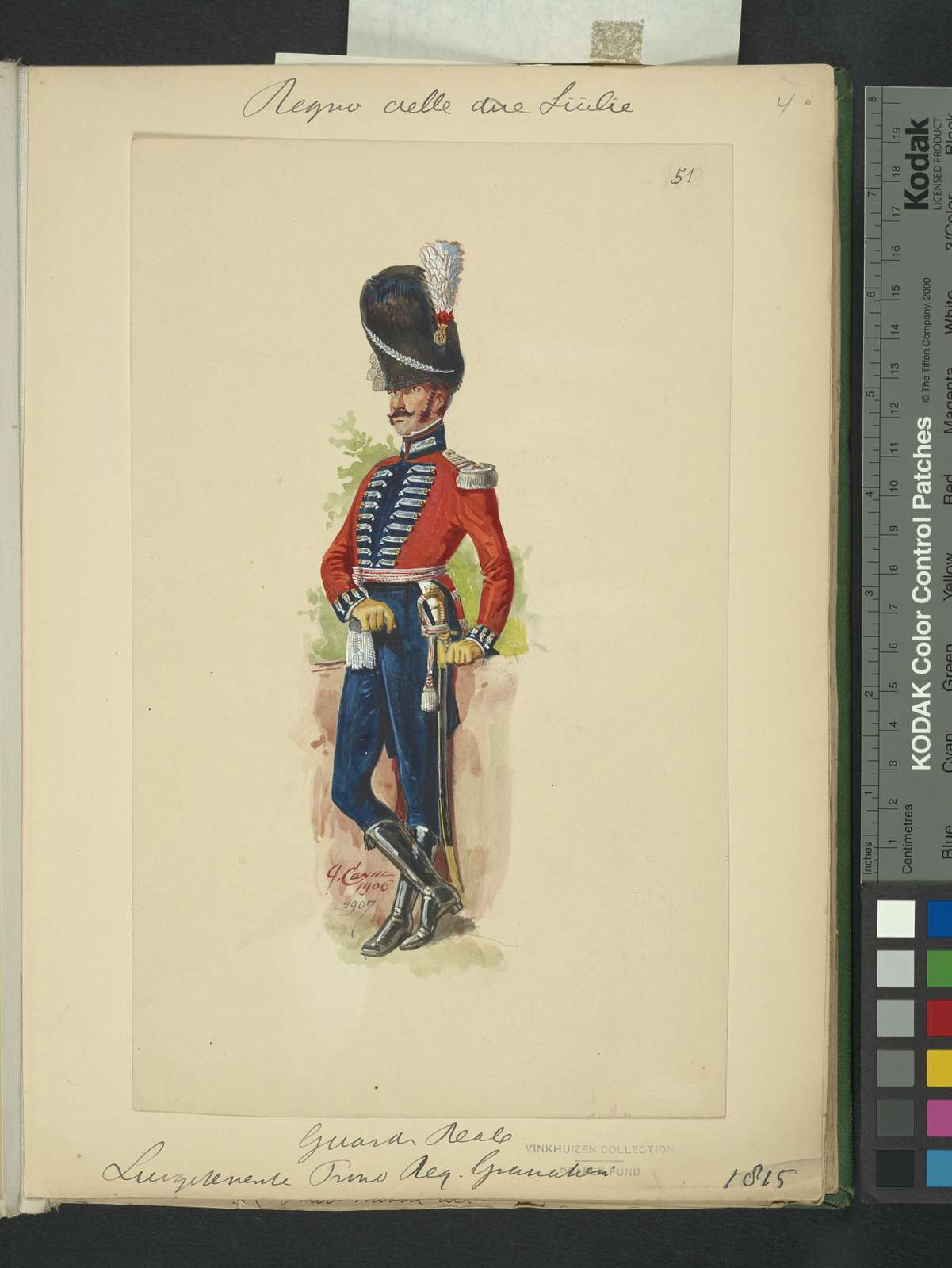 Italy. Kingdom of the Two Sicilies, 1815 [part 8].