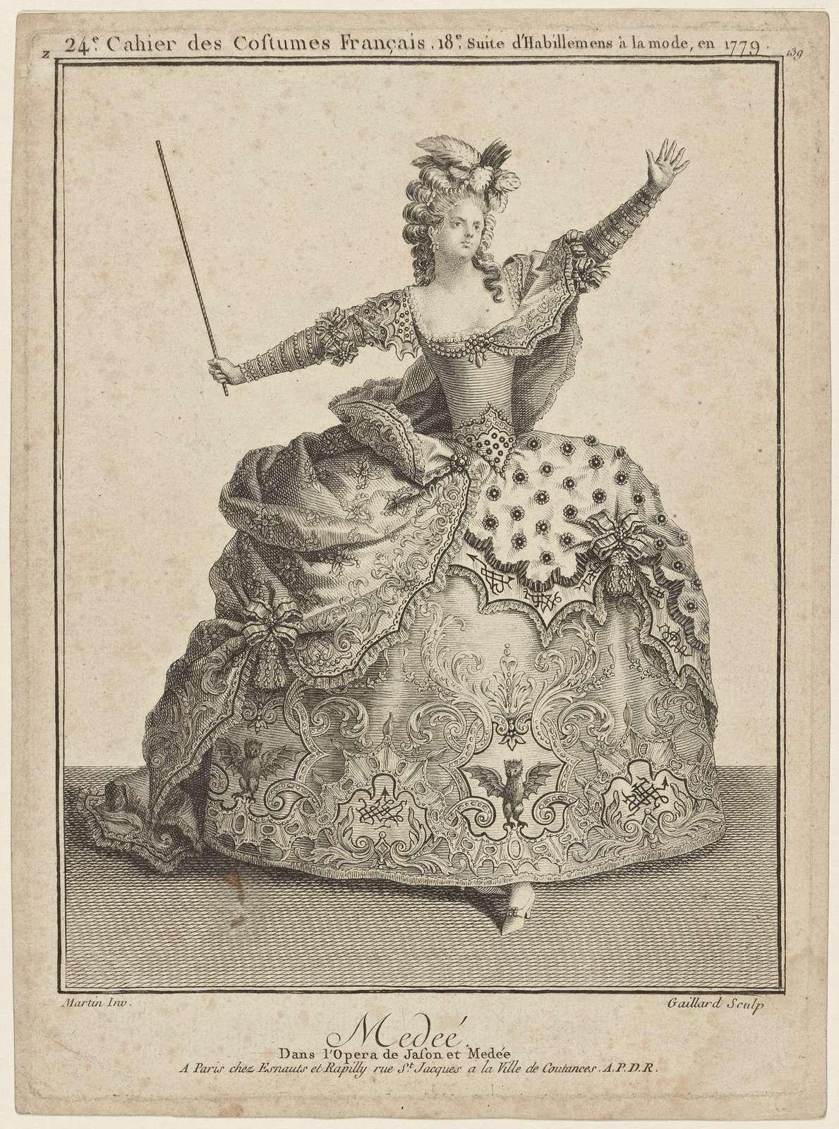 Medée, dans l'opéra de Jason et Medée