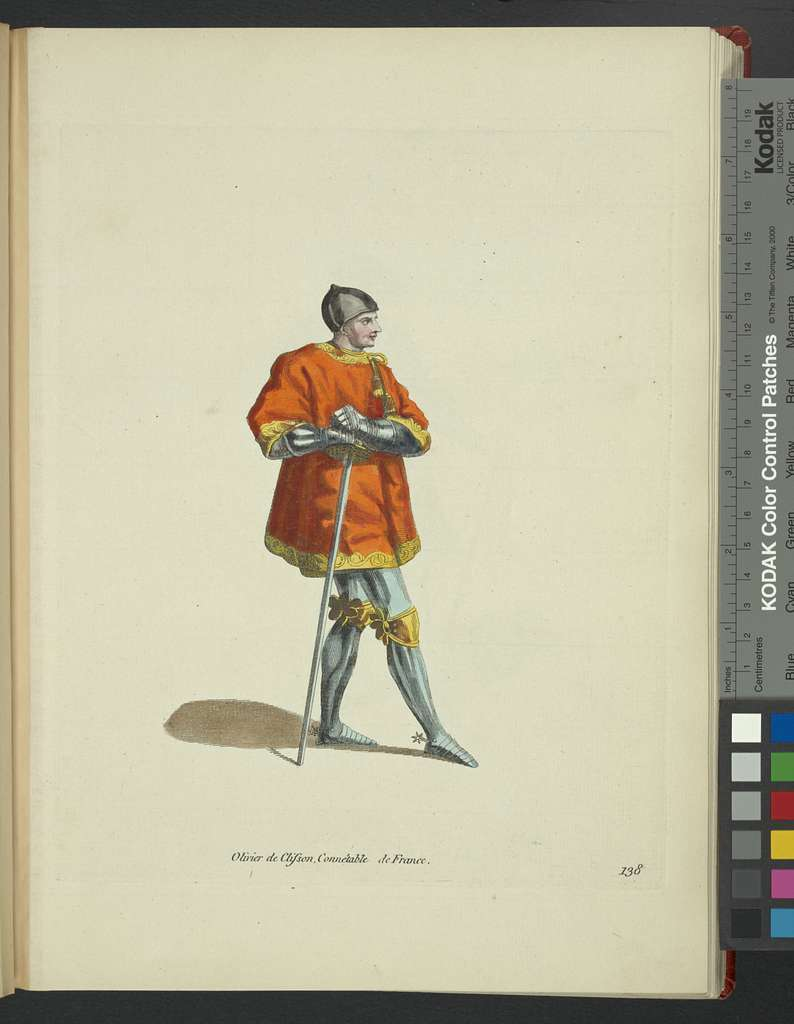 Olivier De Clisson, constable of France. Olivier de Clisson Connéable de France.