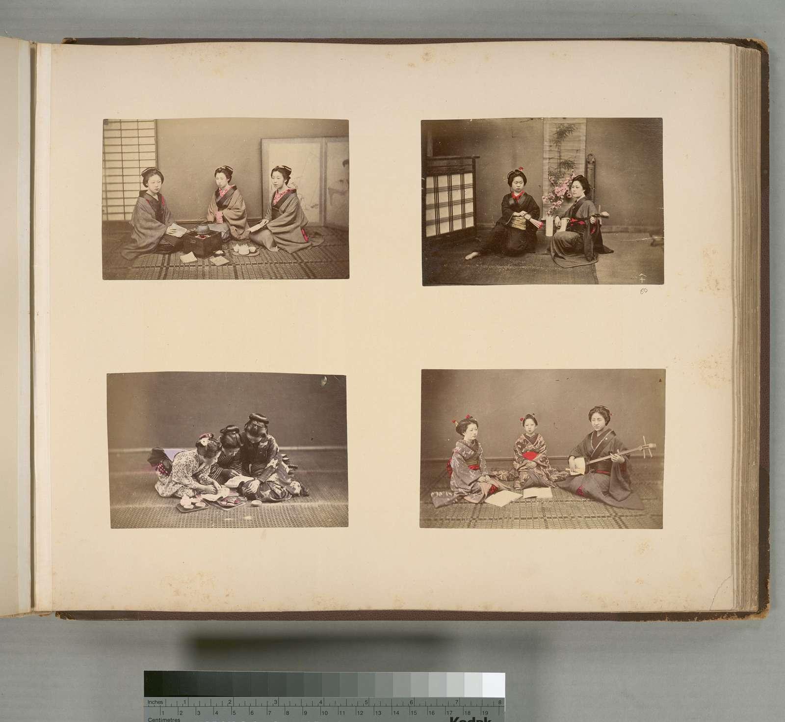 Japanese Women : Accomplishments (Music), Tea break  and Chatting