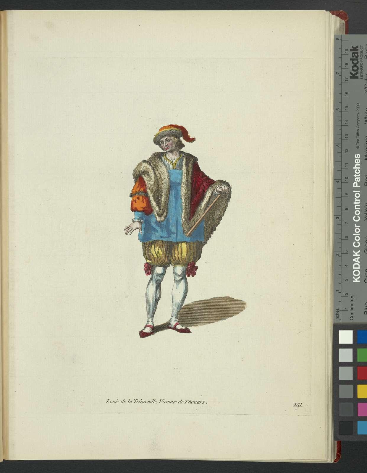 Lewis De la Trimoville, viscount of Thouars. Louis De la Trémouille, vicomte de Thouars.