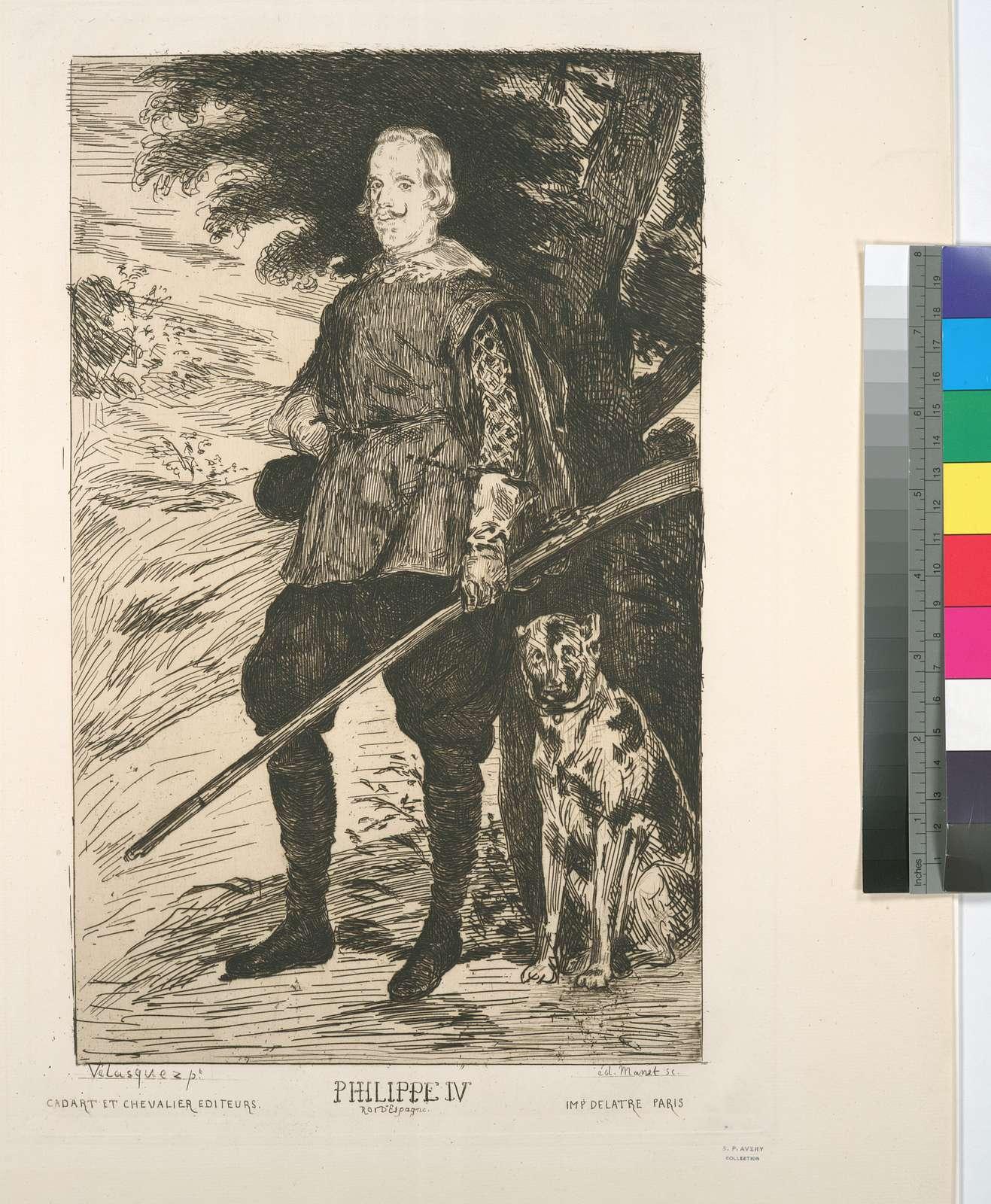 Philippe IV, d'après Velasquez.
