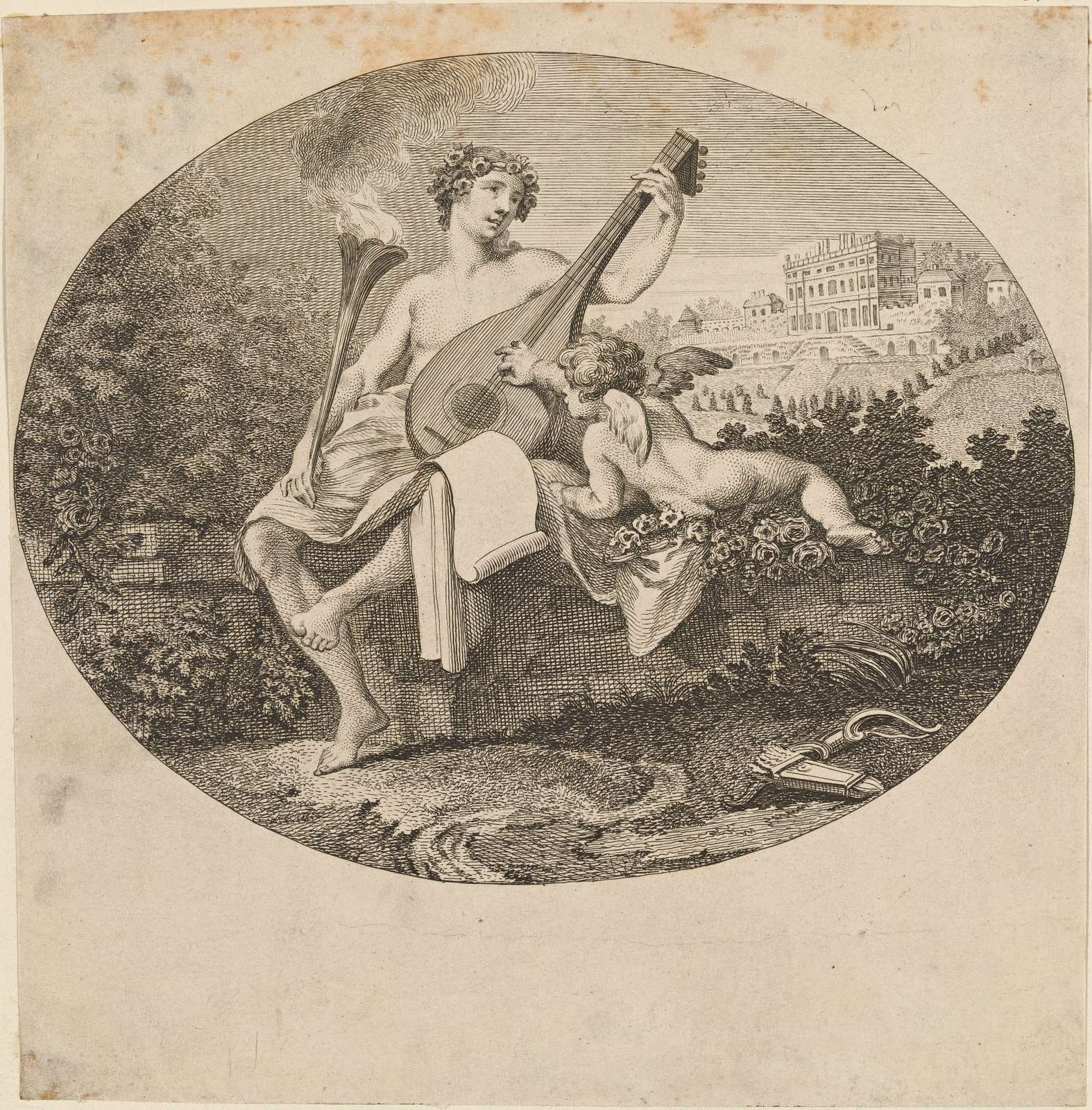 Hymen and Cupid