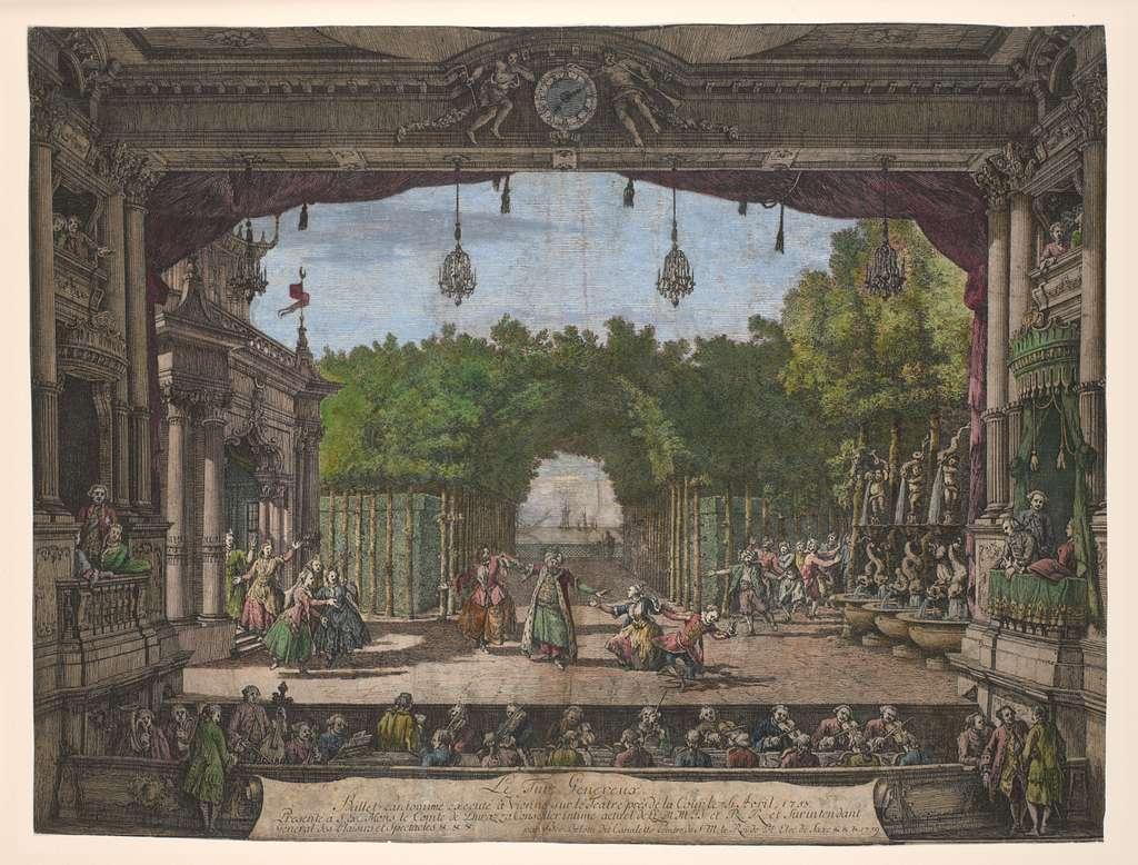 Le turc genereux, ballet pantomime executé à Vienne sur le teatre près de la cour le 26 avril, 1758