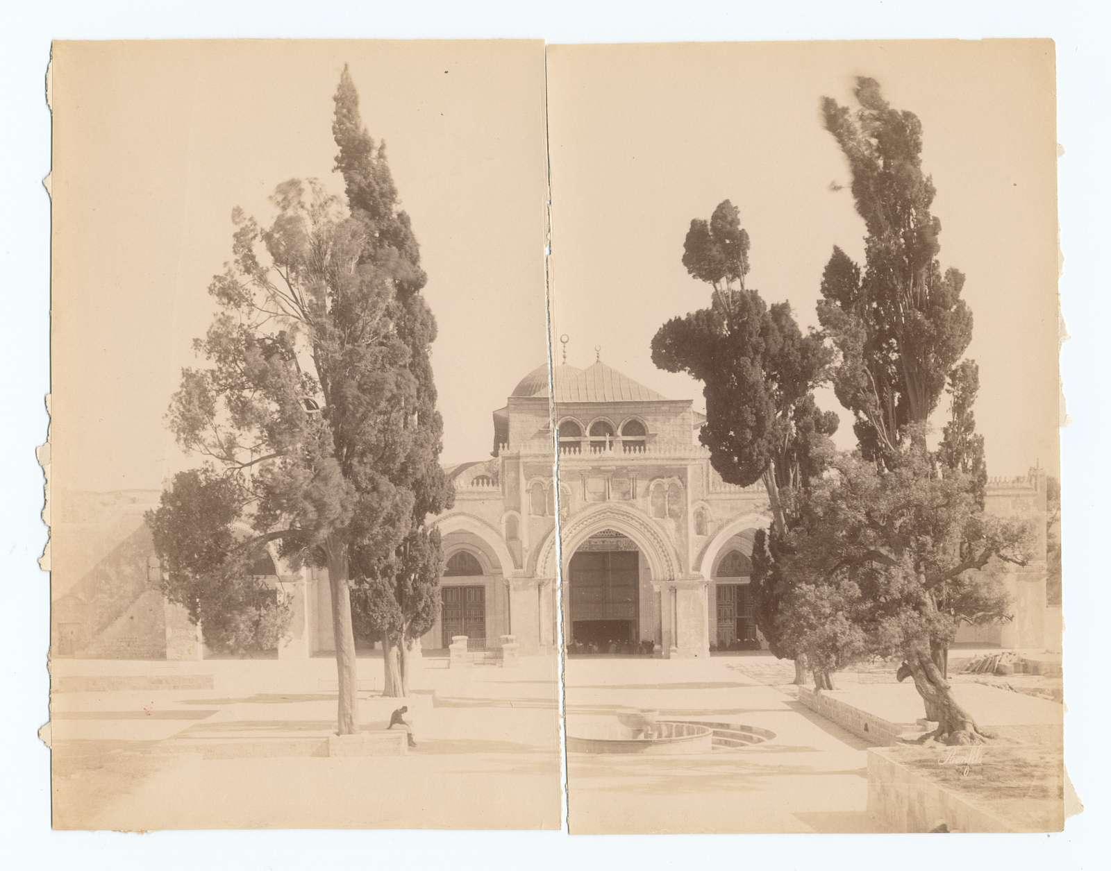 [The Aqsa Mosque,] Jerusalem.