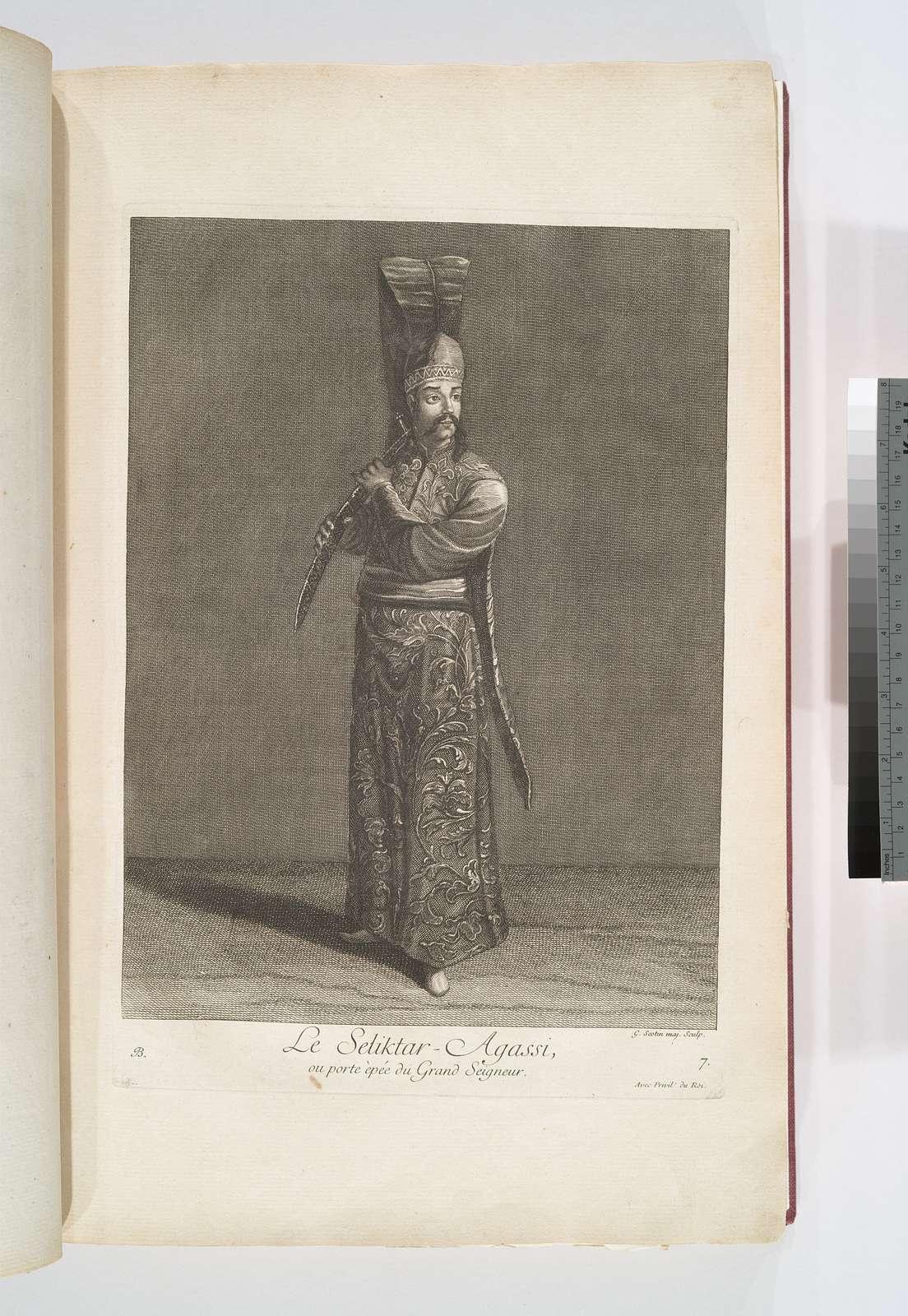Le seliktar-agassi, ou porte èpée du grand seigneur