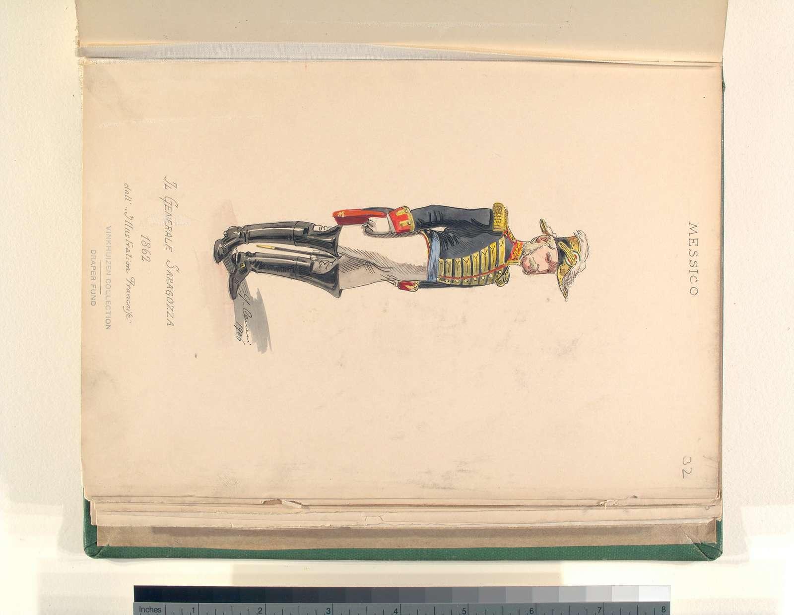 """Il generale Sagagozza. 1862. dall'""""Illustration francaise"""""""