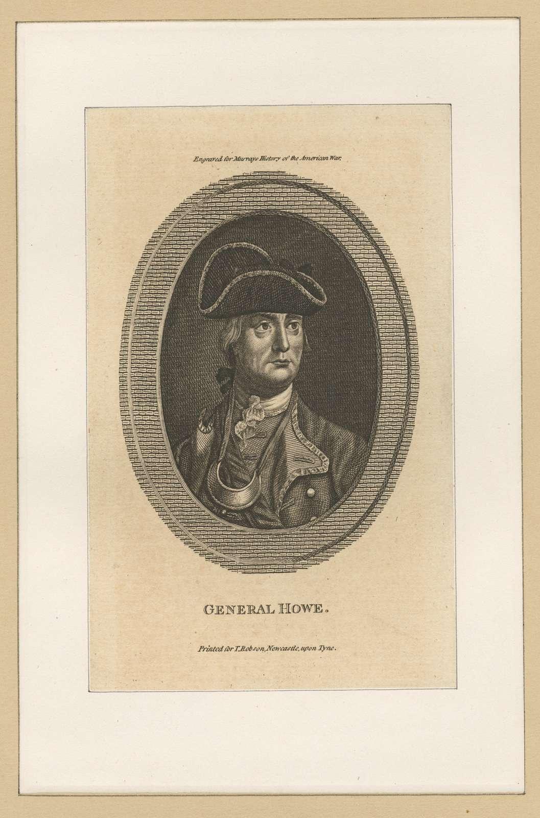 General Howe.