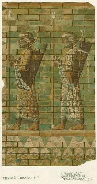 """Immortal"" guardsmen from Persepolis"